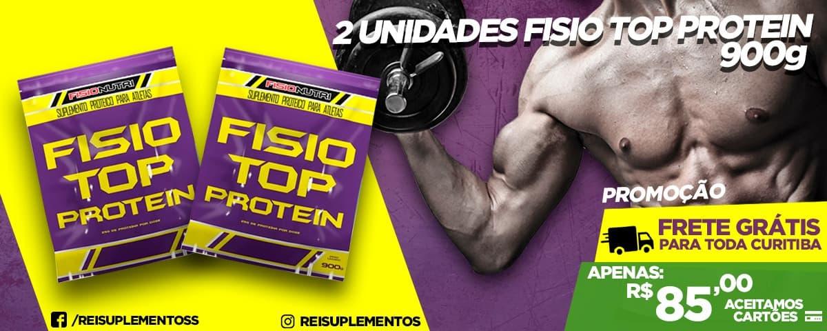 2 Unidades-Fisio Top Protein- 900g-FisioNutri