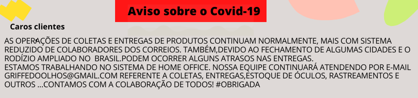 Aviso sobre o Covid-19