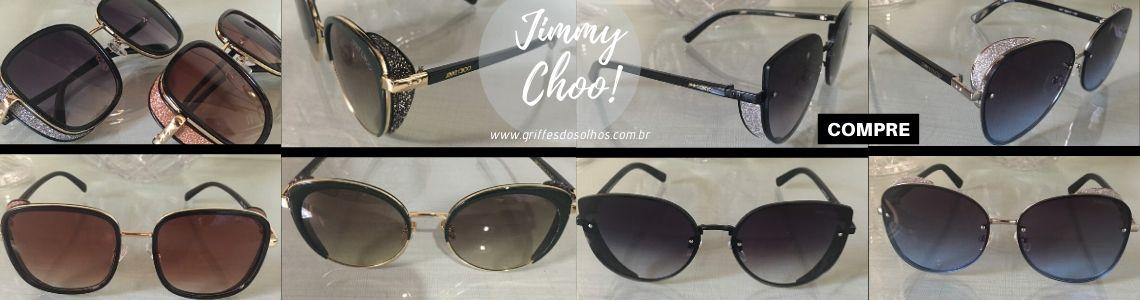 Óculos Jimmy Choo Glitter Brilhoso