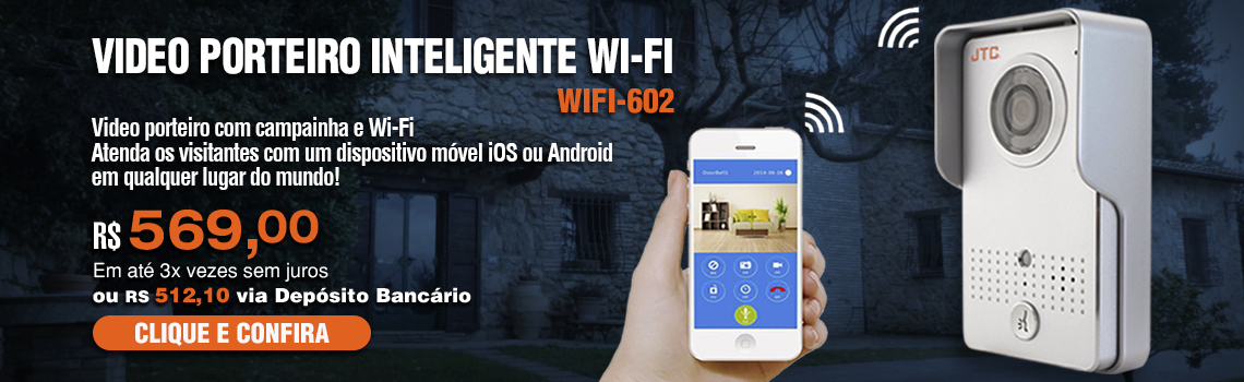 Video Porteiro - wifi602