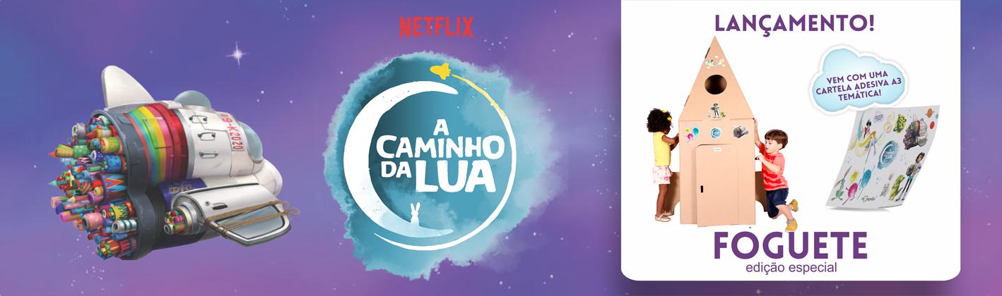 A Caminho da Lua - Netflix