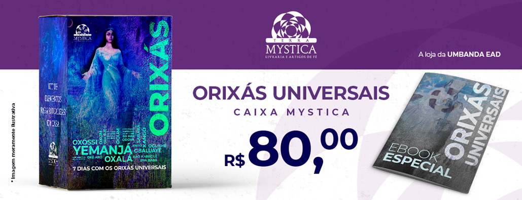 Caixa Mystica Orixás Universais