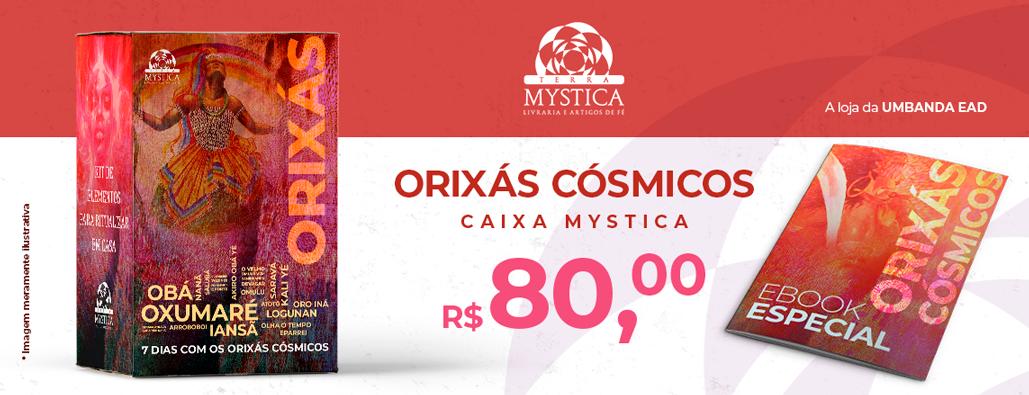 Caixa Mystica Orixás Cósmicos