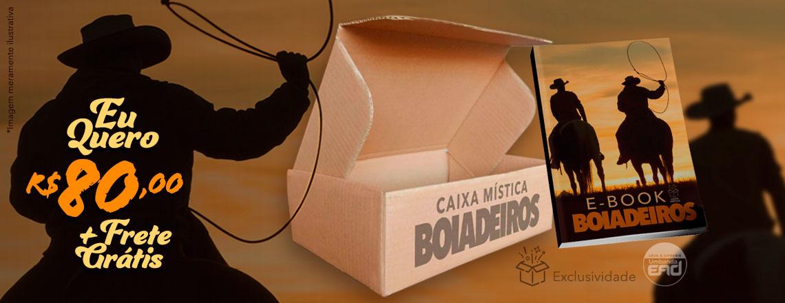 CAIXA MÍSTICA BOIADEIROS