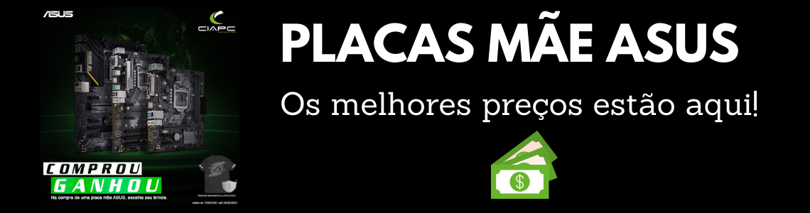 PLACAS MÃE ASUS