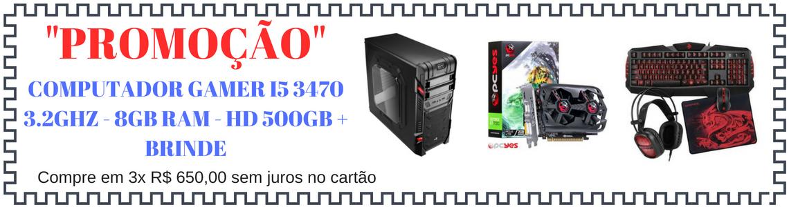Promoção Ccomputador I5