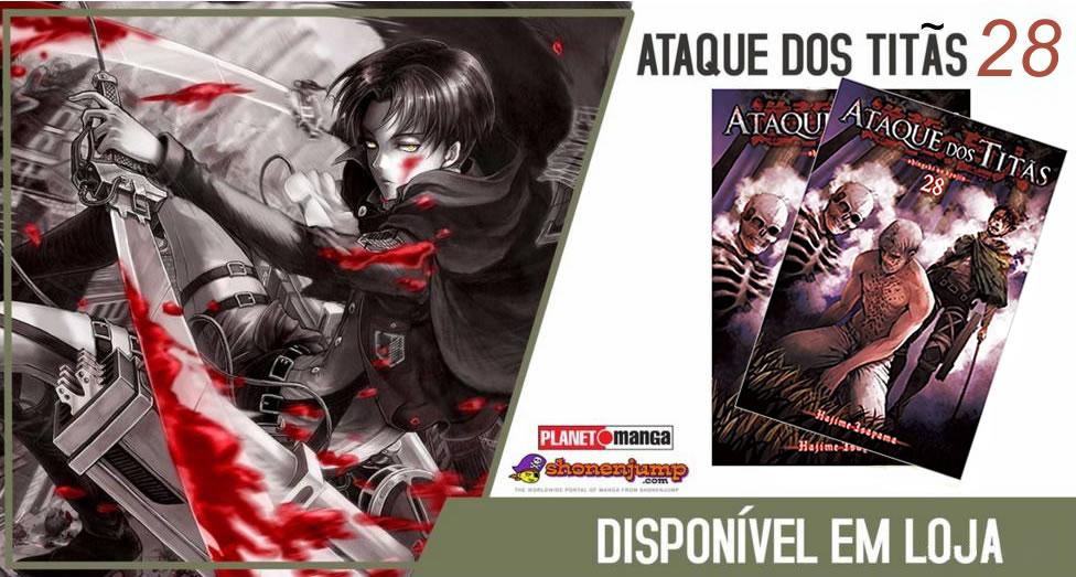 Ataque Dos Titãs Vol.28