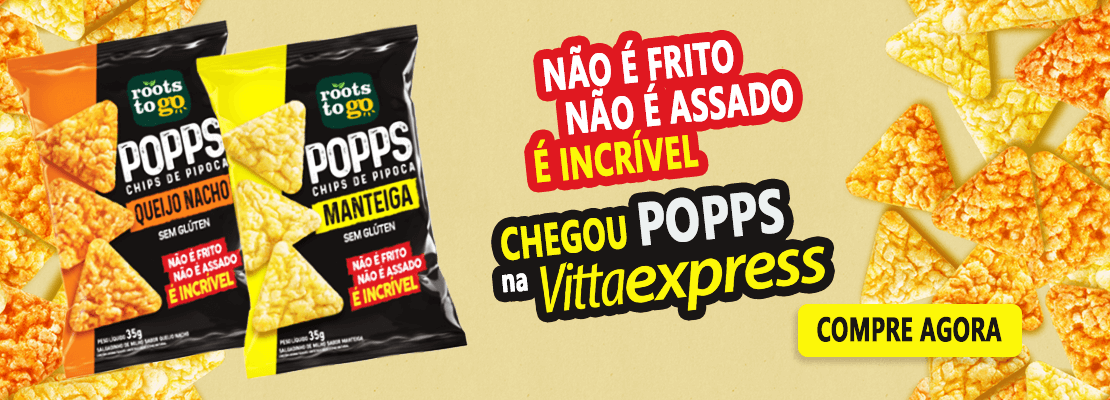 Popps Roots To Go Sem Gluten