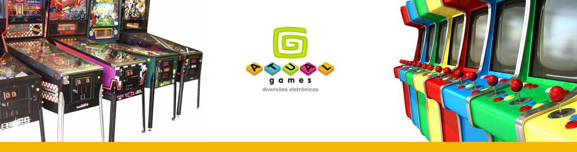 Banner Diversões Eletronicas
