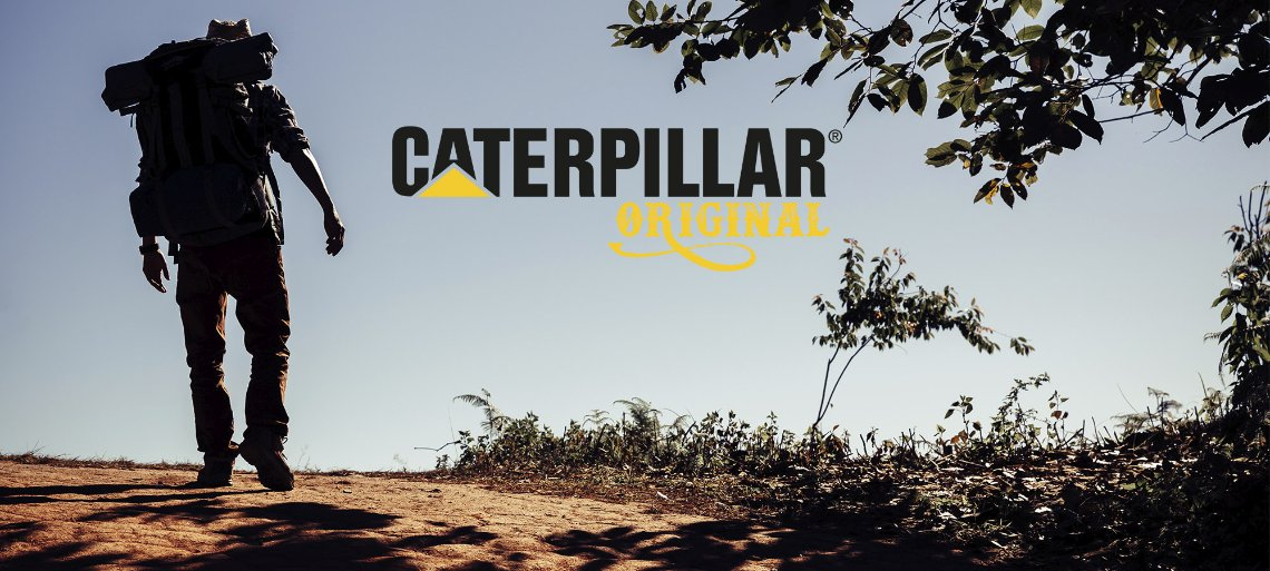 Fuul Banner CATERPILLAR ORIGINAL