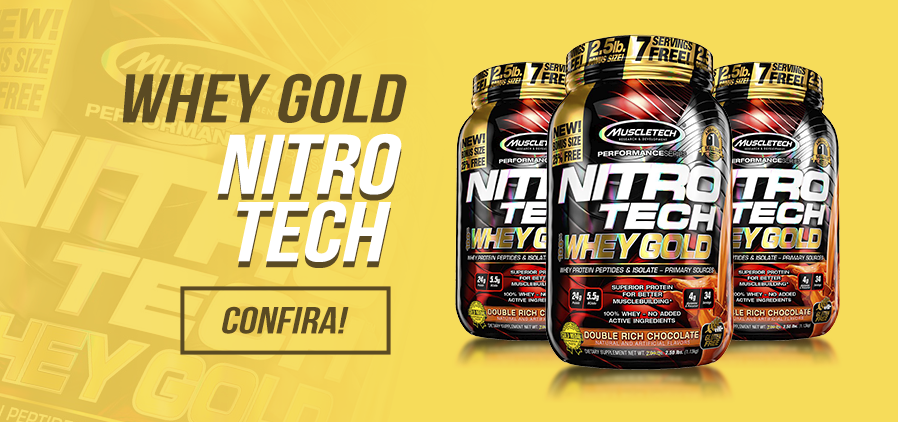 Nitro Tech 100% Whey Gold - Muscletech