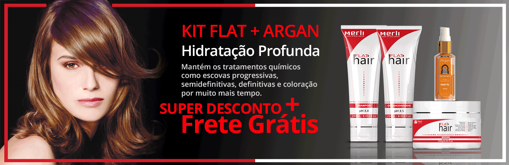 KIT FLAT+ARGAN