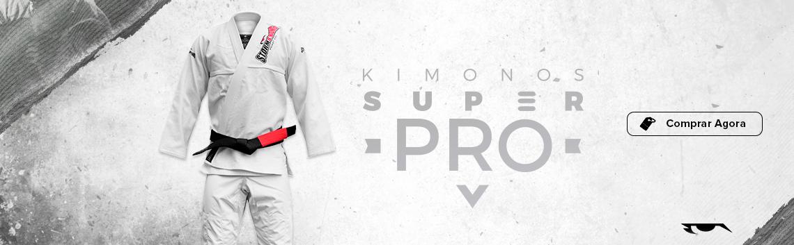 Kimono Super PRO branco