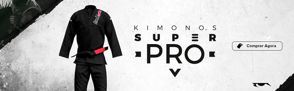 Kimono Super Pro Preto