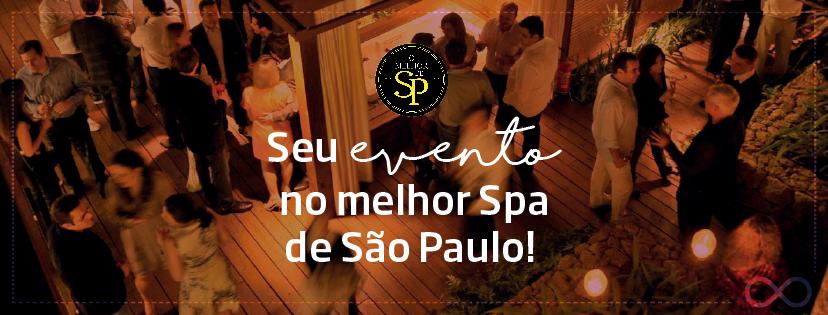 Seu evento no Melhor Spa de São Paulo
