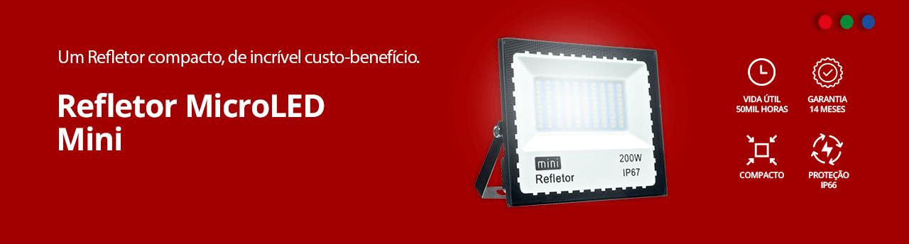 Categoria -> /mini-refletor-led - Banner Refletor Micro LED Mini