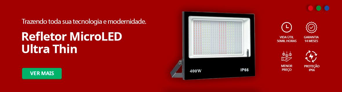 Categoria -> /kit-refletor-micro-led-ultra-thin - Banner Refletor Micro LED Ultra Thin