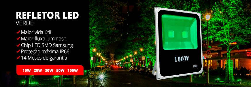 Refletor - Categoria Refletor Verde LED #01