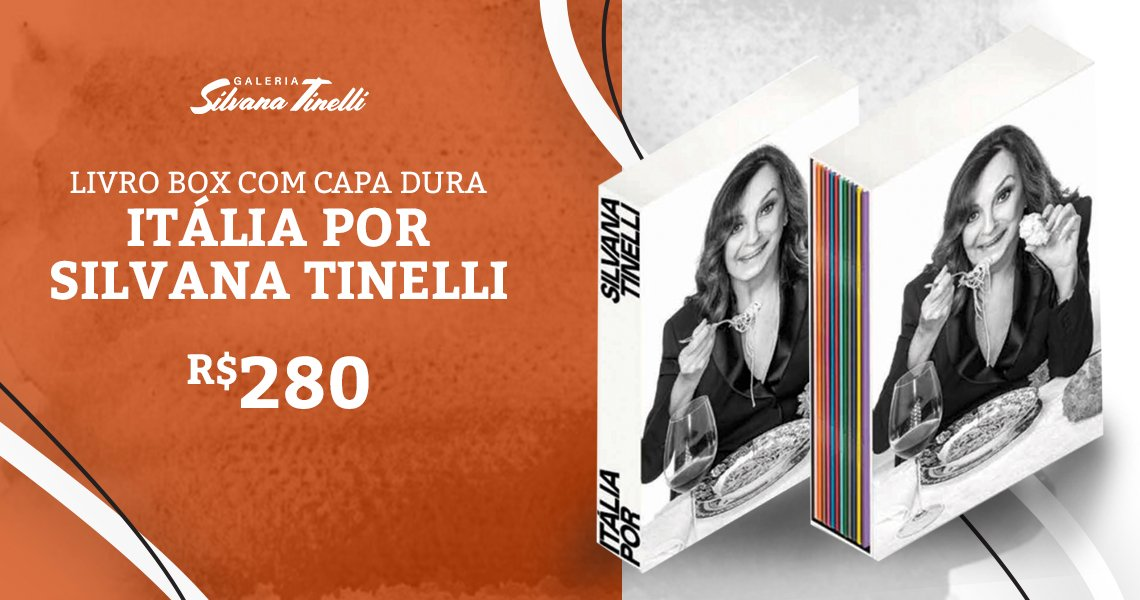 Banner Livro de receitas Silvana