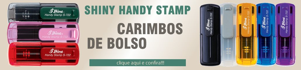Carimbos Hand Stamp