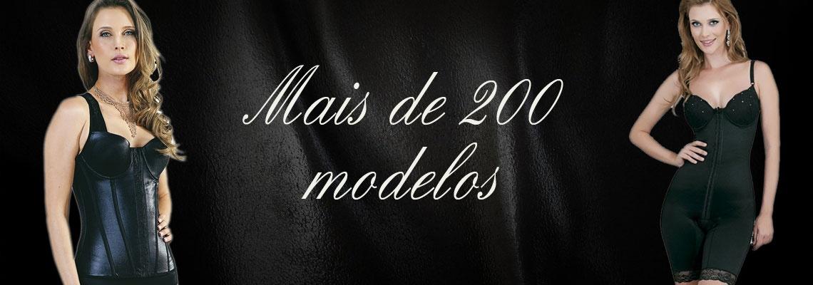 Mais de 200 modelos