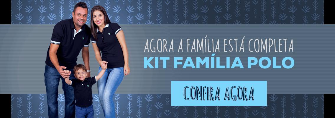 Kit Polo Família