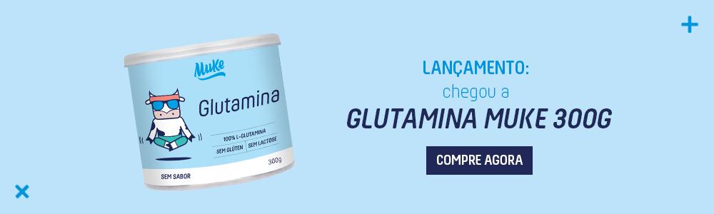 Banner Lançamento Glutamina