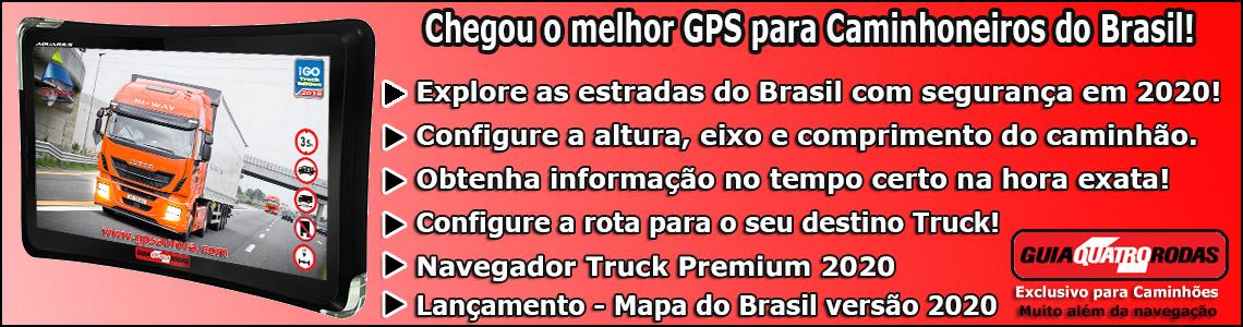 GPS Quatro Rodas iGO Truck 2020