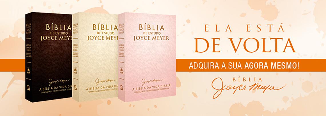 Bíblias de Estudo Joyce Meyer