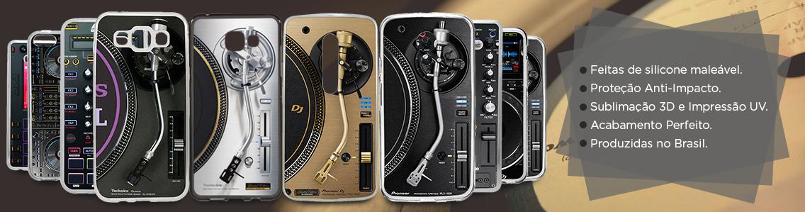 Capas de celular para DJs