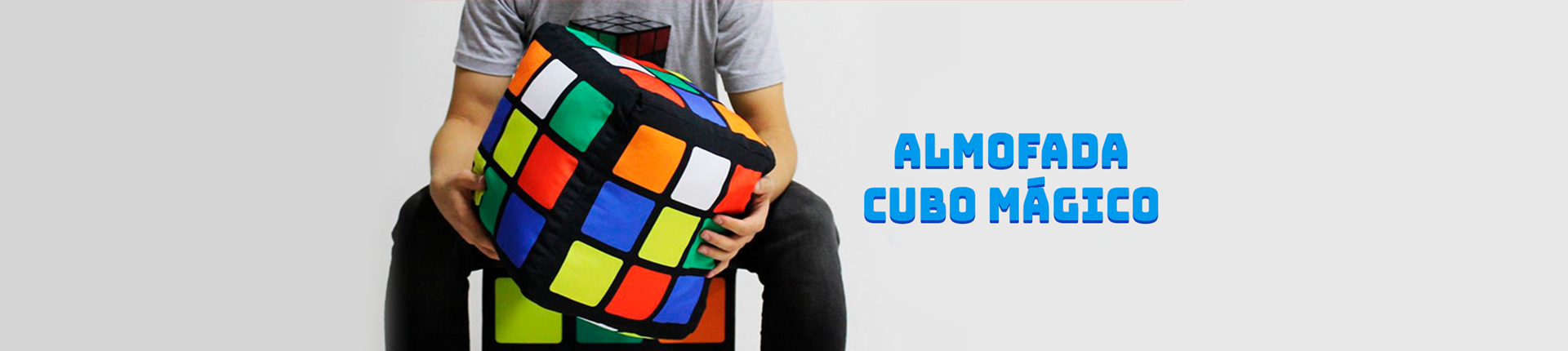 Almofada Cubo Mágico