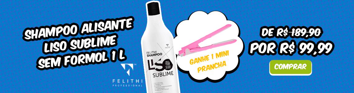 Shampoo Liso absoluto - Felithi
