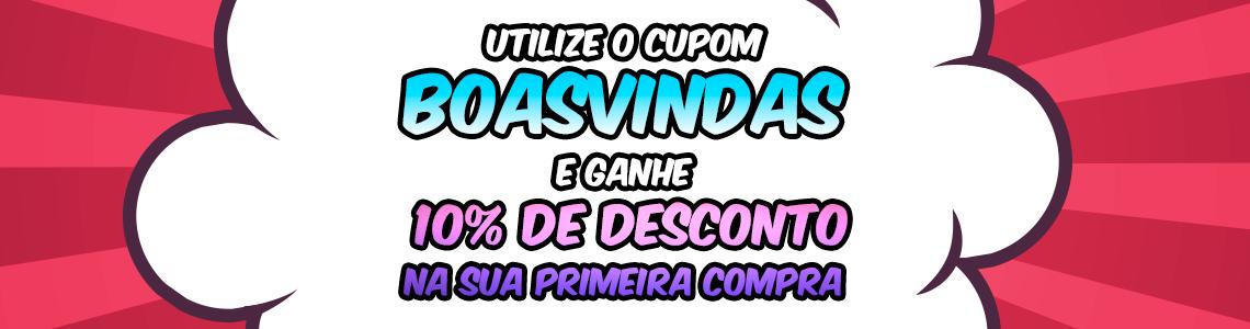 [PRIMEIRA COMPRA] Boas Vindas
