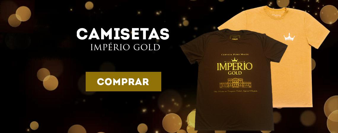 Camiseta Gold e Lager
