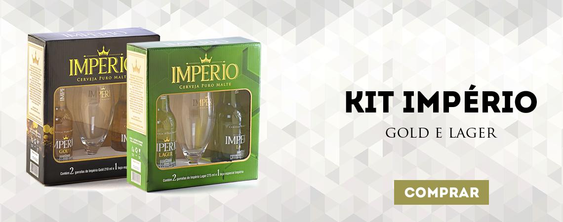 Kit Império Gold e Lager