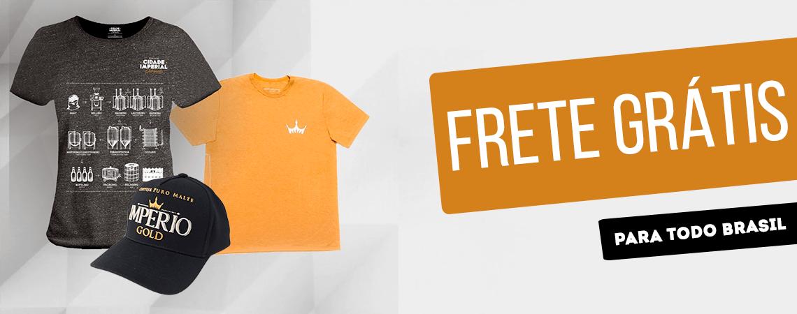 Frete Grátis - Boné e Camiseta