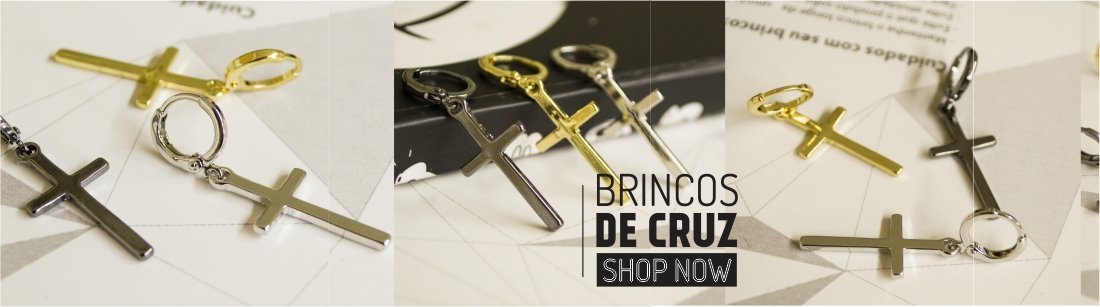 BRINCOS DE CRUZ