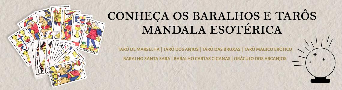 Baralhos e Tarôs Mandala Esotérica