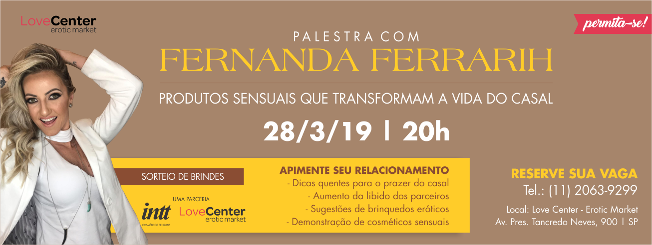 Palestra Fernanda Ferrarih