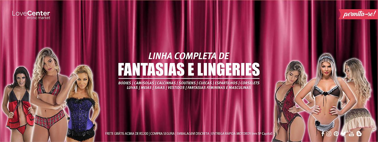 Lingeries e Fantasias