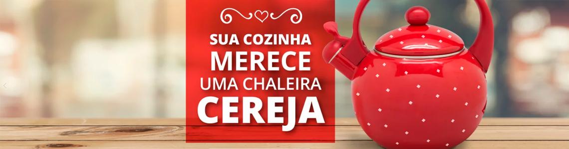 Chaleira Cereja