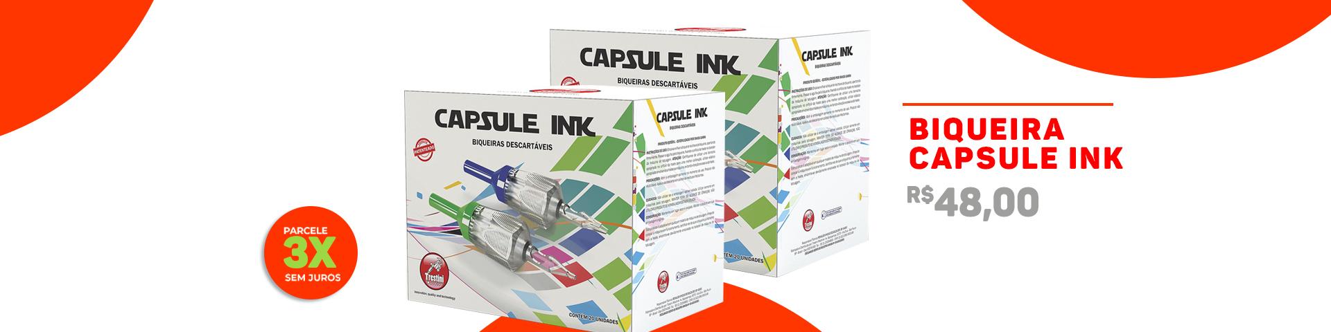Biqueiras Capsule Ink