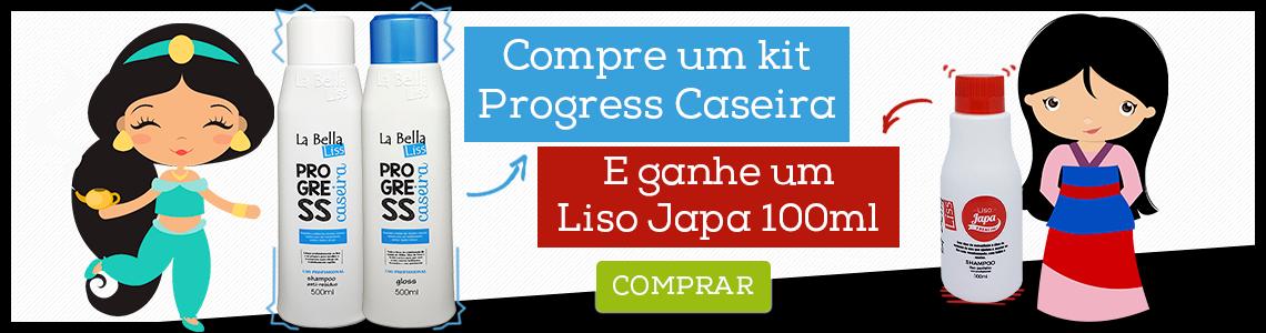 Progress Caseira e ganhe liso japa 100ml