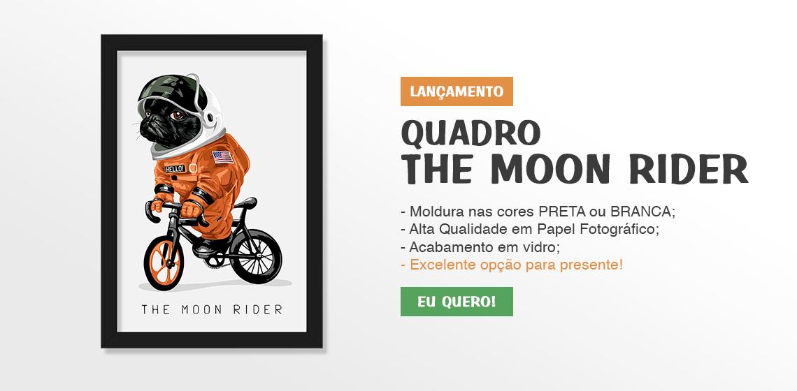 Quadro Bulldog Francês The Moon Rider