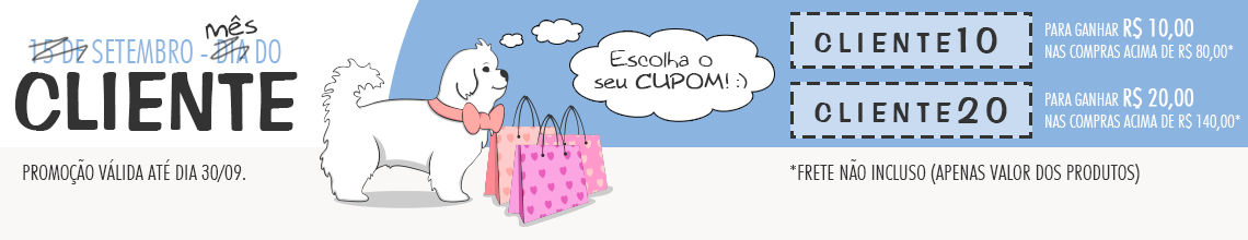 Setembro - Dia do Cliente - Categoria