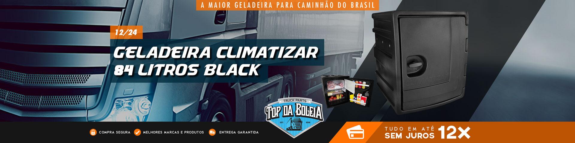Geladeira Black 84 Litros