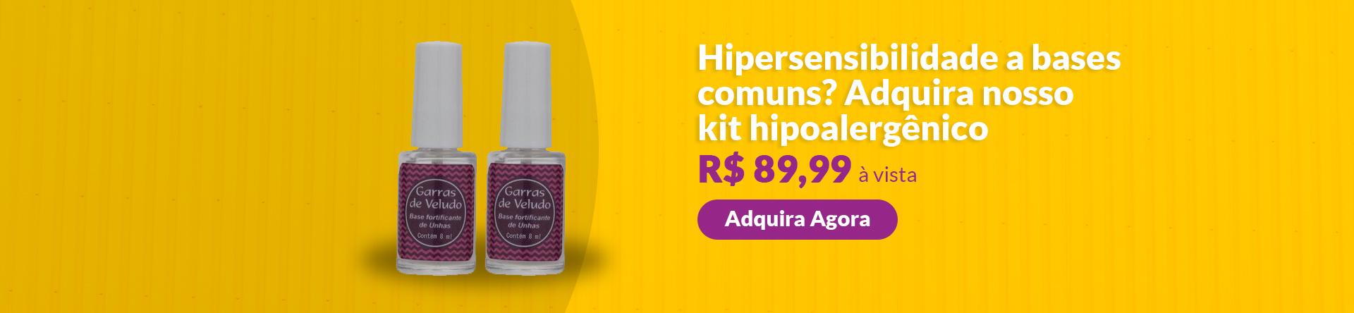 Full banner kit hipoalergênica