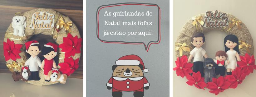 Guirlanda Personalizada de Natal