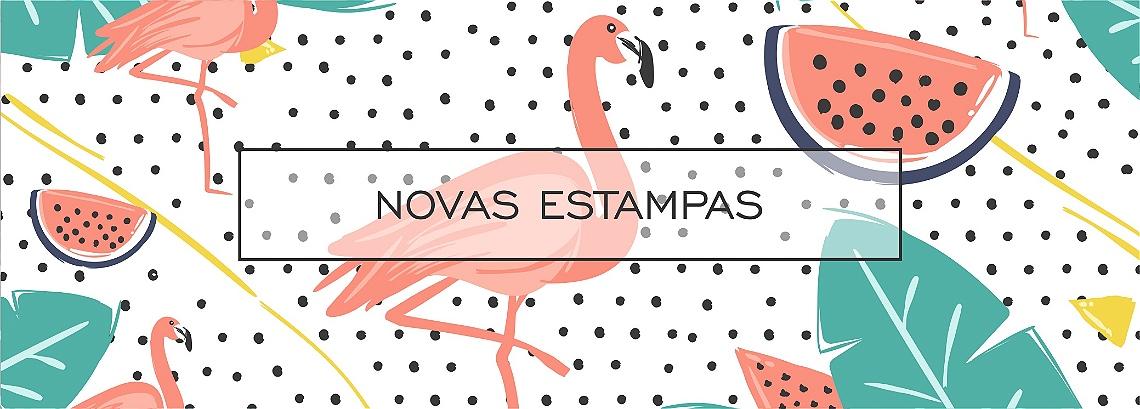 Banner Flamingos