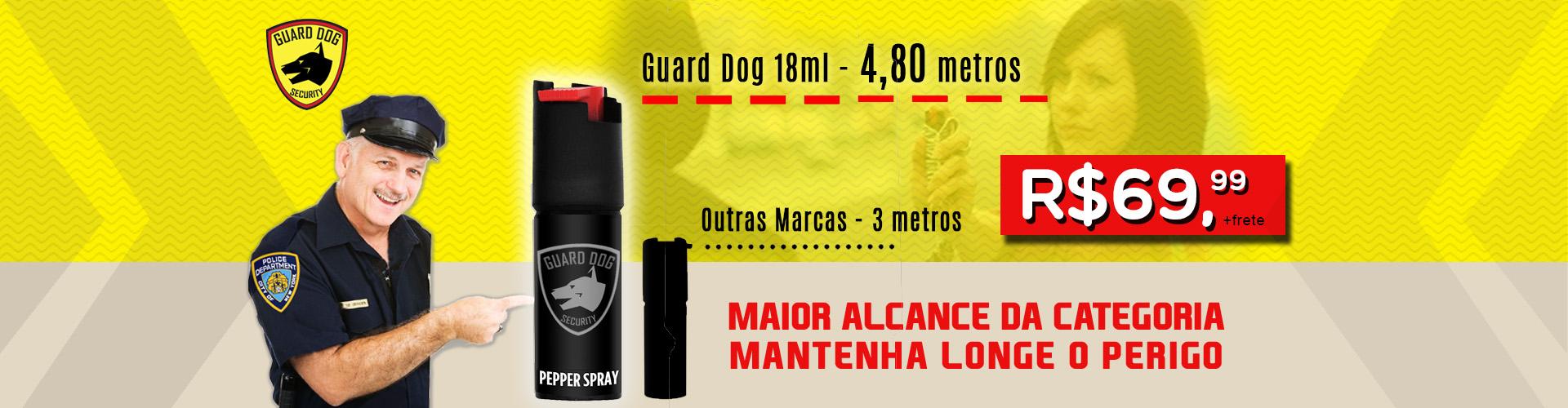 GUARD DOG SPRAY 18ML CINZA